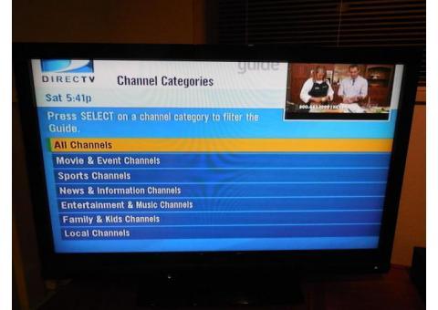 "VISIO 42"" LCD HDTV"