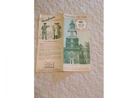 PA State Store 1951 Pamphlet