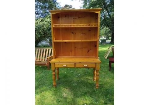 Beautiful Hand-crafted Hutch