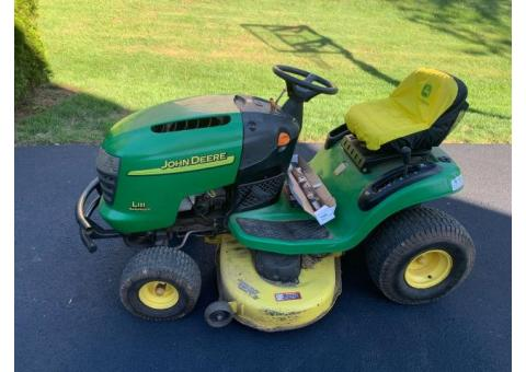 Free John Deere Lawn Tractor and Craftsman Snow Blower